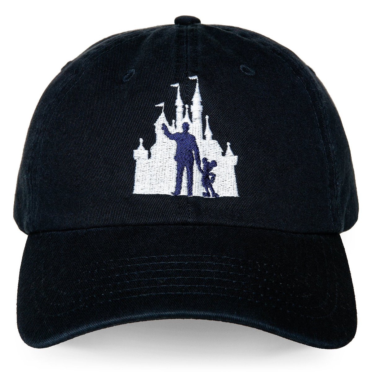 Disney Baseball Cap Partners Cinderella Castle With Walt