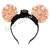 Disney Light Up Headband - Happy Halloween Bats - Orange