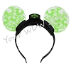 Disney Light Up Headband - Happy Halloween Bats - Green