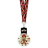 Disney Glow-in-the-Dark Lanyard - Mickey Mouse 2017 Happy Halloween