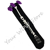 Disney Socks - Halloween Minnie Witch Bones and Bows