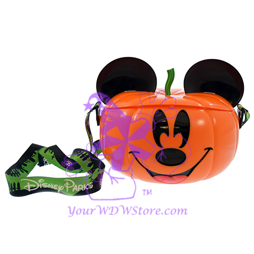 Disney Halloween Popcorn Bucket - Mickey Pumpkin