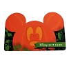 Disney Collectible Gift Card - Mickey Pumpkin Shaped