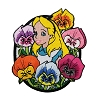 Disney Iron On Patch by Loungefly - Alice and Flowers