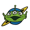 Disney Iron On Patch by Loungefly - Toy Story Pizza Planet Green Alien