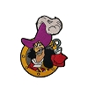 Disney Iron On Patch by Loungefly - Peter Pan - Captain Hook