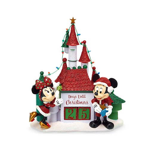 Christmas Countdown Calendar.Disney Christmas Countdown Calendar Mickey And Minnie Woodland