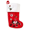 Disney Stocking - Mickey and Minnie - Winter Woodland Skating