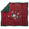 Disney Throw Blanket - Mickey and Minnie Holiday Winter Woodland