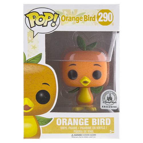 Your Wdw Store Disney Funko Pop Vinyl Figure Orange