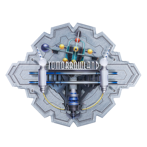 Disney Wall Sign - Tomorrowland by Greg McCollough