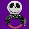 Disney Dog Toy - Chew Squeaker - Jack Skellington Rope Ring