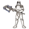 Disney Star Wars Pin - The Last Jedi - Judicial Stormtrooper
