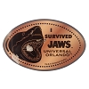 Universal Studios Pressed Penny - I Survived Jaws
