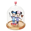 Disney Holiday Ornament - Mickey & Minnie Vacation Dome - Disney World