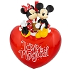 Disney Holiday Ornament - Love is Magical Heart - Mickey Minnie