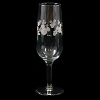 Disney Etched Glass - Mickey Mouse Ears Icons Champagne Flute