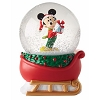 Disney Snow Globe - Mickey on Sleigh