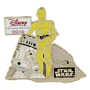 Disney Visa Pin - 2016 Cardmember Pin - C3PO and R2D2