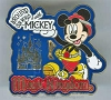 Disney Around Our World With Mickey Pin - Magic Kingdom
