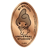 Universal Pressed Penny - Hello Kitty - My Melody