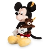 Disney Plush - Mickey Mouse w/ Teddey Bear by Steiff - 12''