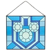 Disney Stained Glass Panel - Mickey Mouse Hanukkah
