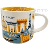 Disney Coffee Cup Mug - Starbucks You Are Here Epcot 3rd Edition