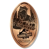 Universal Pressed Penny - I Survived Jurassic Park