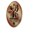 Universal Pressed Penny - Transformers - Optimus Prime