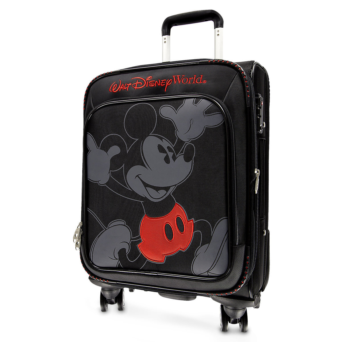 Your Wdw Store Disney Rolling Luggage Mickey Mouse