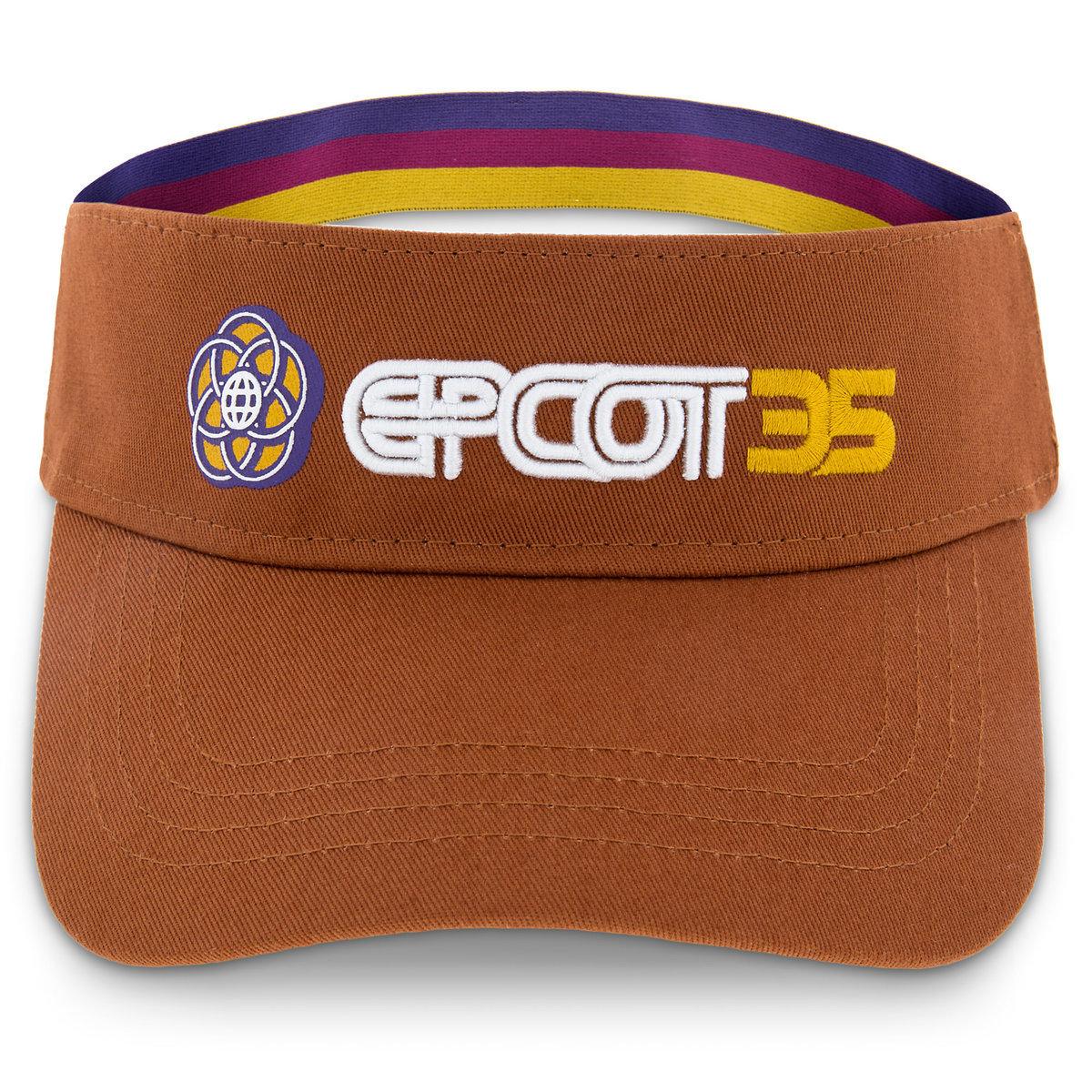 8c8405e7760 Disney Visor - Epcot 35th Anniversary