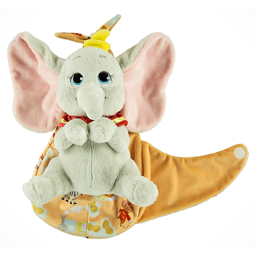 Baby Dumbo With Blanket Pouch