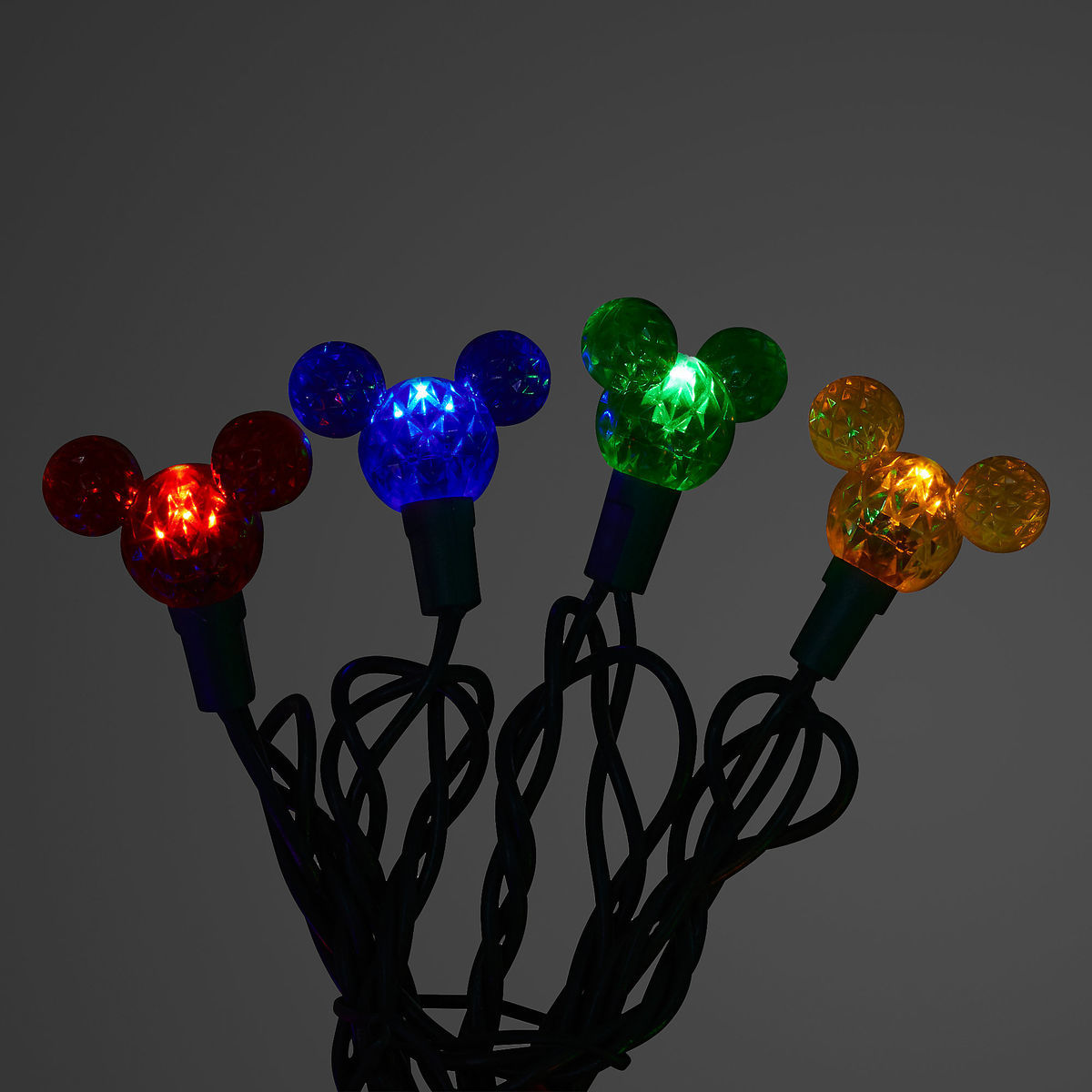 Disney String Lights Mickey Mouse Icons Multicolor Wdw Store Icon Pin Circuit Board Tap To Expand