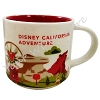 Disney Coffee Cup Mug - Starbucks You Are Here - California Adventure