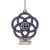 Disney Disc Ornament - Epcot 35th Anniversary Logo - Metal