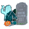 Disney Halloween Pin - 2017 Happy Halloween - Haunted Mansion Gus