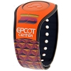 Disney Magicband 2 Bracelet - EPCOT 35th Anniversary - Orange