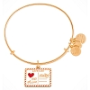 Disney Alex and Ani Bracelet - Mickey and Minnie Love Letter - Gold