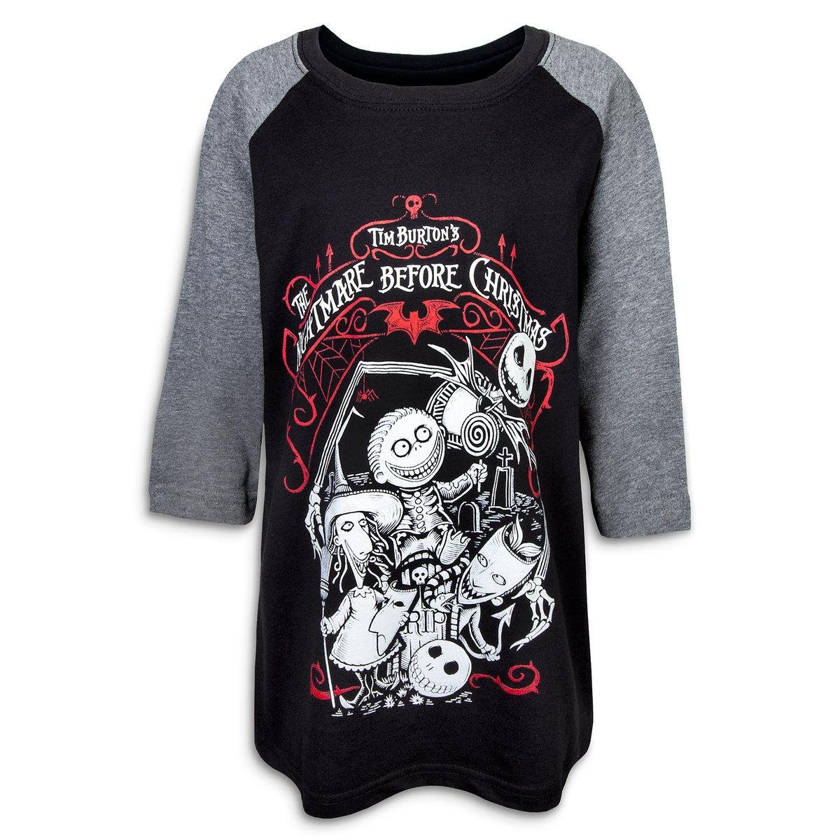 Disney Child Tee - Nightmare Before Christmas Raglan