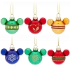 Disney Ornament Set - Mickey Icons - Rainbow