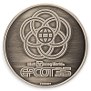 Disney Collectible Coin - Epcot 35th Anniversary