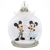 Disney Ornament - Mickey and Minnie Wedding Globe