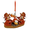 Disney Figurine Ornament - Chip and Dale Roasting Marshmallows
