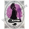 Disney Silhouette Print - Walt Disney World - Princess Rapunzel