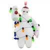 Disney Figurine Ornament - Big Hero 6 - Baymax in Christmas Lights