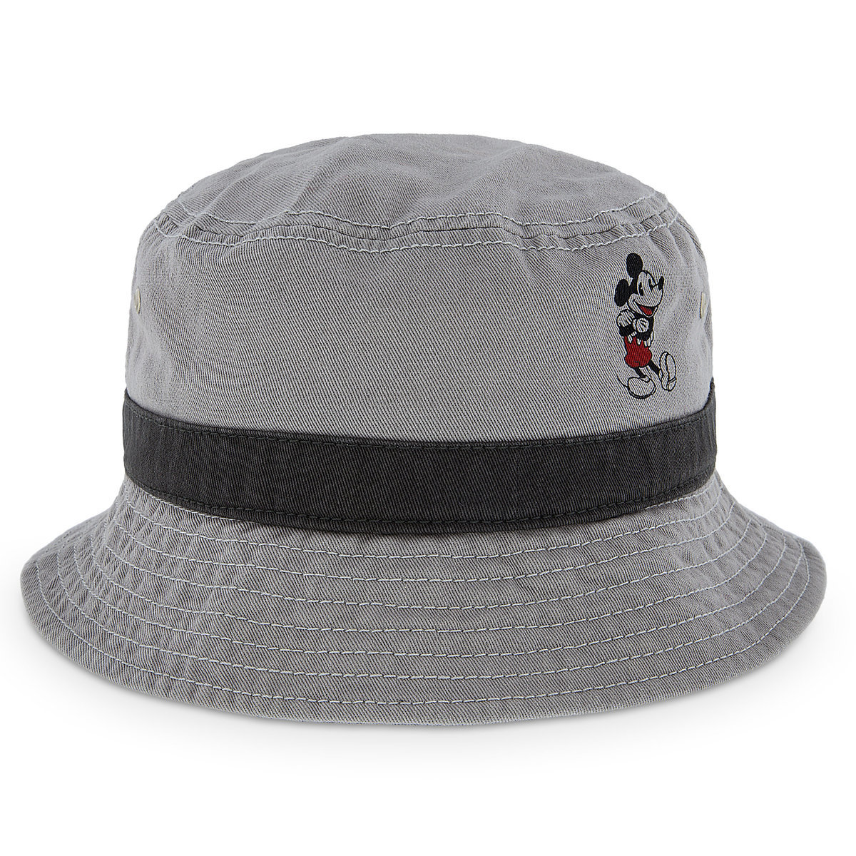 Disney Adult Bucket Hat - Timeless Mickey Mouse - Grey 52301fd62bb