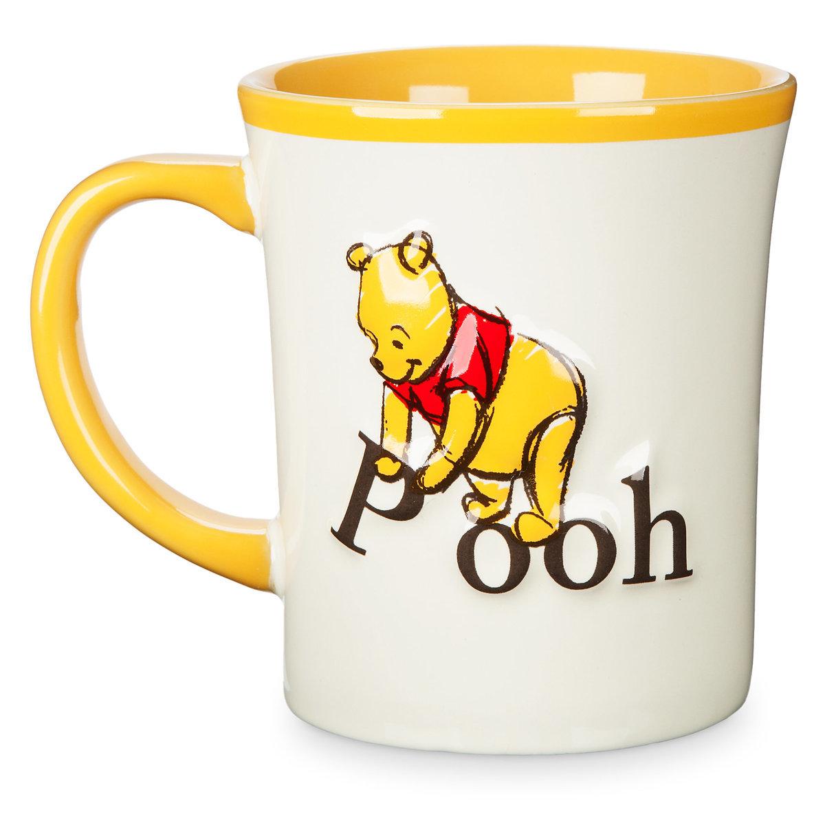 Disney Coffee Cup Mug Winnie The Pooh Storybook Mug