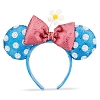 Disney Minnie Ears Headband - Blue & White Polka Dots