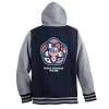 Disney Varsity Jacket - Epcot 35th Anniversary Zip Hoodie